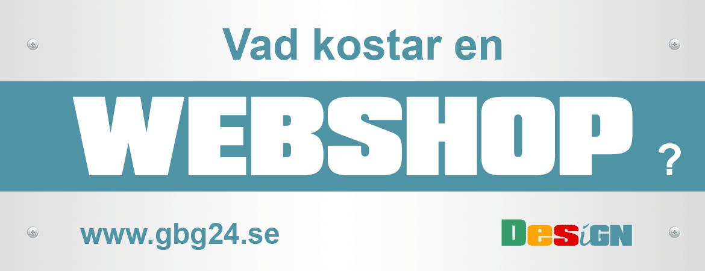 Vad kostar en webshop?